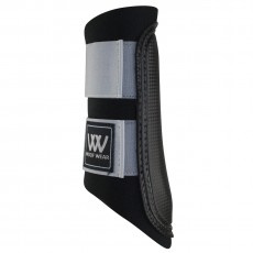 Woof Wear Club Brushing Boots (Black/Grey)