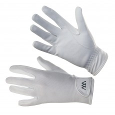 Woof Wear Connect Riding Gloves (White)