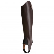 Ariat Adults Close Contour Show Chaps (Chocolate)