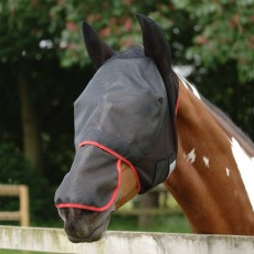 Equilibrium Field Relief Fly Mask Max (Black)