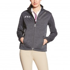 Ariat Women's FEI Tek Fleece (Charcoal Heather)