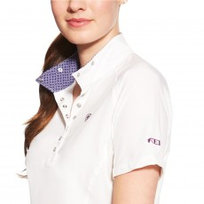Ariat Women's FEI Aero Show Shirt (White)