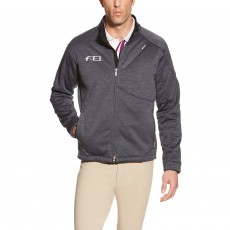 Ariat Men's FEI Tek Fleece (Charcoal Heather)