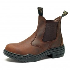 Mountain Horse Stable Jodhpur Boot (Brown)