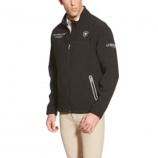 Ariat Men's FEI World Cup Team Softshell Jacket (Black)