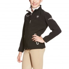 Ariat Kids' FEI World Cup Team Softshell (Black)