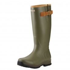 Ariat Men's Burford Insulated Wellington Boots (Olive Green)