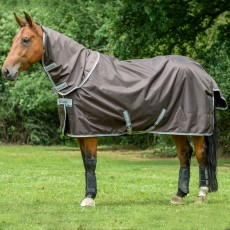 Bucas Smartex Turnout Combi Neck Chocolate