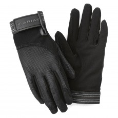Ariat Adults Air Grip Gloves (Black)