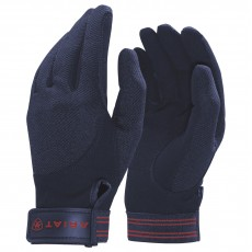 Ariat Adults Tek Grip Gloves (Navy)