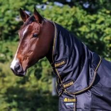 Bucas Irish Turnout Combi Neck (Black/Gold)
