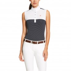 Ariat Women's Aptos Sleeveless Top (Navy/White Stripe)