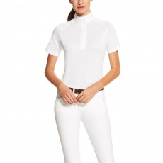Ariat Women's Hex Showstopper Top (White)