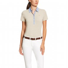Ariat Women's Askill Polo (Cobblestone Heather)