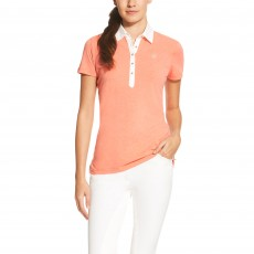Ariat Women's Askill Polo (Peach Heather)