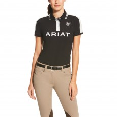 Ariat Women's New Team Polo (Black)