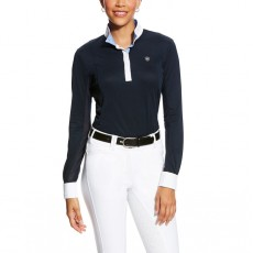 Ariat Women's Sunstopper Pro Show Shirt (Darkest Sapphire)