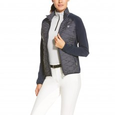 Ariat Women's Cloud 9 Jacket (Navy Stripe)