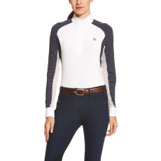 Ariat Women's Marquis Show Shirt (Navy Stripe)