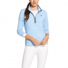 Ariat Women's Ballad Half Zip Top (Skyway)