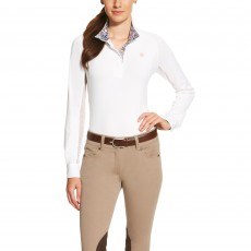 Ariat (Sample) Women's Marquis Show Top (White/Constantine Liberty)