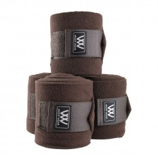 Woof Wear Polo Bandages Set of 4 (Chocolate)