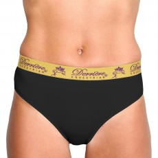 Derriere Equestrian Women's Performance Panty (Black)