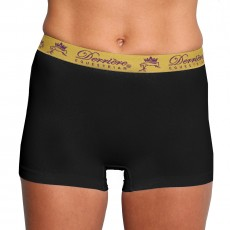 Derriere Equestrian Women's Performance Seamless Shorty (Black)