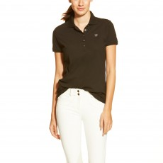 Ariat Women's Prix Polo (Black)