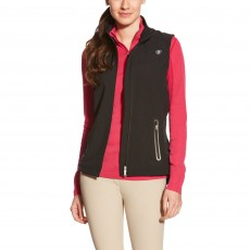 Ariat Women's Vivid Softshell Vest (Black)