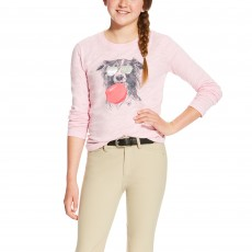 Ariat Girl's Bubblegum Tee (Blossom)