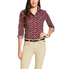 Ariat (Sample) Women's Sport Horse Shirt (Multi Horse Print)