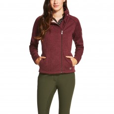 Ariat Women's Regency Full Zip (Malbec)