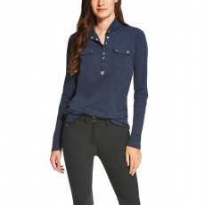 Ariat Women's Tour Mock Neck (Navy)