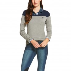 Ariat Women's Ultimo Sweater (Navy Colourblock)