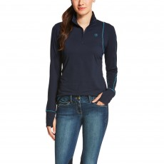 Ariat Women's Lowell Quarter Zip (New Navy)