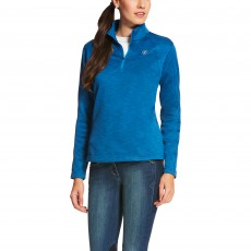 Ariat Women's Conquest Quarter Zip (Rush Blue)