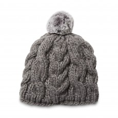 Ariat Unisex Snug Cable Beanie (Jetty Grey)