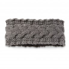 Ariat Unisex Snug Cable Headband (Jetty Grey)