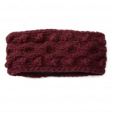Ariat Unisex Snug Cable Headband (Malbec)