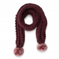 Ariat Snug Cable Scarf (Malbec)