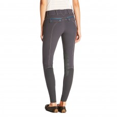 Ariat Women's Olympia Acclaim Knee Patch Breeches (Ebony Grey)