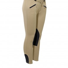 Mark Todd Kid's Euro Seat Breeches (Beige & Navy)
