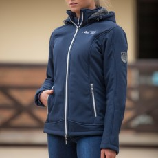 Mark Todd Women's Softshell Fleece Lined Jacket (Navy)