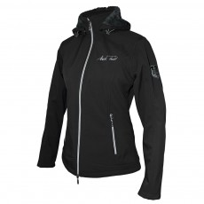 Mark Todd Women's Softshell Fleece Lined Jacket (Black)