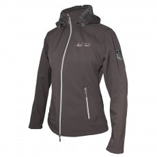 Mark Todd Women's Softshell Fleece Lined Jacket (Chocolate)