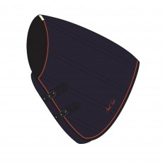 Mark Todd Mediumweight Stable Rug Neck Cover (Navy & Orange)