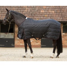 JHL Lightweight Stable Rug (Black & Burgundy)