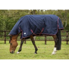 JHL Heavyweight Combo Turnout Rug (Navy & Burgundy)