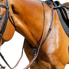 Mark Todd Padded Breastplate (Havana)